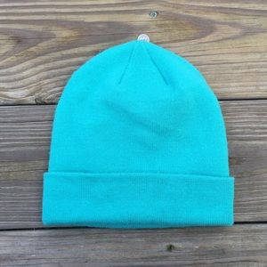 The North Face Accessories - North face Teal blue youth winter hat beanie